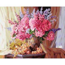 Раскраска Виноградно-пионовое, 40x50, Белоснежка