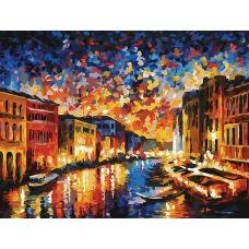 Раскраска Гранд-канал Венеция, Л. Афремов, 30x40, Белоснежка