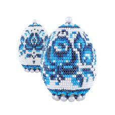 Набор для бисероплетения Яйцо. Гжель, 6,5х5, Риолис