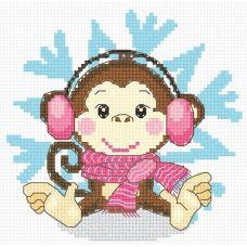 Набор для вышивания Снежинка, 13x13, Овен