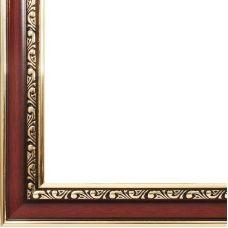 Рама багетная ACADEMIC (ТЕМНО КОРИЧНЕВЫЙ), 40*50, Белоснежка