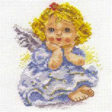 Вышивка Ангелочек мечты, 11x14, Алиса