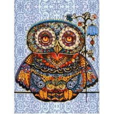 Раскраска Волшебная сова, 30x40, Белоснежка