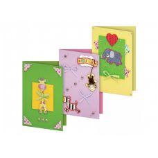 Набор для создания 3-х открыток Веселая мозаика, Белоснежка