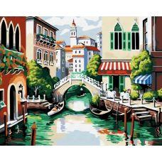 Раскраска Венеция, 40x50, Белоснежка