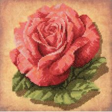 Набор для вышивания Роза, 20x20, частичная крест, Риолис, Сотвори сама