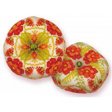 Набор для вышивания Бискорню. Маков цвет, 8x8, Риолис Сотвори сама