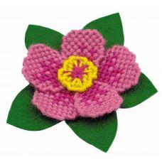 Набор для вышивания Магнит. Цветок, 8,5x8, Риолис Сотвори сама