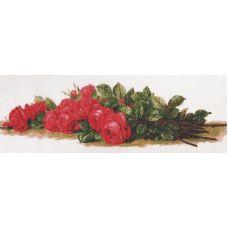 Набор для вышивания Розы на столе, 59x20, Палитра