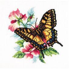Набор для вышивания крестом Махаон, 17x18, Чудесная игла