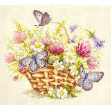 Набор для вышивания крестом Летнее настроение, 20x17, Чудесная игла