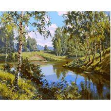 Живопись по номерам Родные берега, 40x50, Paintboy, GX3521