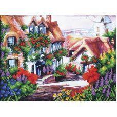 Набор для вышивания бисером Сказочный пейзаж-5, 43,5x33,5, Магия канвы