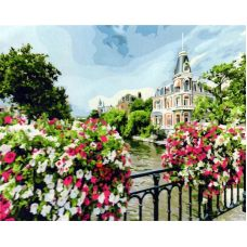 Живопись на холсте Амстердам, 40x50, Paintboy, GX21698