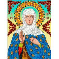Набор для вышивания Святая Ангелина, 19,5x26, Вышиваем бисером