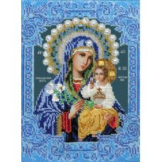 Набор для вышивания Богородица Неувядаемый цвет, 19x26, Вышиваем бисером
