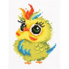 Набор для вышивания Попугайчик, 11х16, Чудесная игла