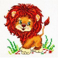 Набор для вышивания Лёвушка, 11х11, Чудесная игла