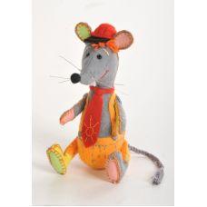 Набор для шитья Озорной мышонок, 18см, Перловка