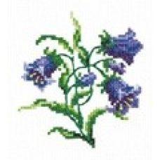 Набор для вышивания крестом Колокольчики, 10x11, Чудесная игла