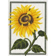 Набор для вышивания Подсолнух, 23x30, Палитра