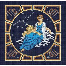 Набор для вышивания бисером Дева , 20x20, МП-Студия