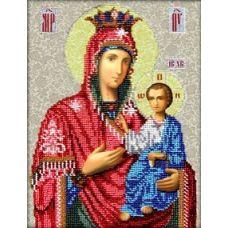 Набор для вышивания Иверская Богородица, 20x26, Вышиваем бисером