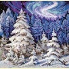 Набор для вышивания крестом Лесные красавицы, 30x30, Чудесная игла