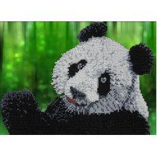 Набор для вышивания Панда, 19x26, Вышиваем бисером