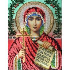 Набор для вышивания Святая Наталья, 19x24, Вышиваем бисером