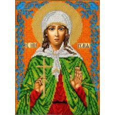 Набор для вышивания Святая Юлия (Иулия), 18,5x25, Вышиваем бисером
