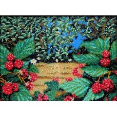 Набор для вышивания Земляничка, 19x26, Вышиваем бисером