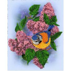 Набор для вышивания Синичка, 26,5x35,5, Вышиваем бисером