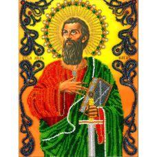 Набор для вышивания Святой Павел, 19x25,5, Вышиваем бисером