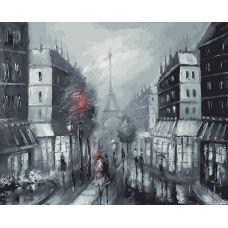 Живопись по номерам Париж, 40x50, Белоснежка