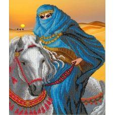 Набор для вышивания Среди золотых песков, 31x26, Русская искусница