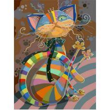 Живопись по номерам Полосатый разбойник, 40x50, Белоснежка