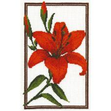 Набор для вышивания Лилия, 18x28, Палитра