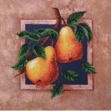 Набор для вышивания бисером Наш сад Груши, 29,5x29,5, Магия канвы