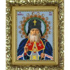 Набор для вышивания с рамкой Святой Лука, 9,5x12,5, Вышиваем бисером