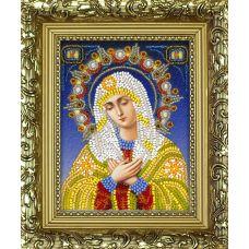 Набор для вышивания с рамкой Богородица Умиление, 9,5x12,5, Вышиваем бисером