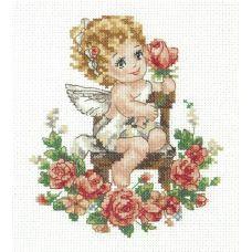 Набор для вышивания крестом День Ангела!, 12x15, Чудесная игла