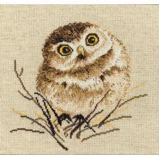 Набор для вышивания Совенок, 20x20, Овен