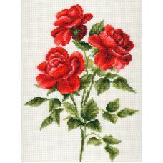 Набор для вышивания Три розы, 20x27, Палитра