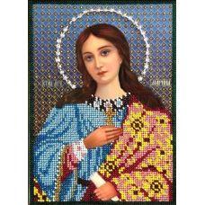 Набор для вышивания Святая Марина, 15x21, Вышиваем бисером