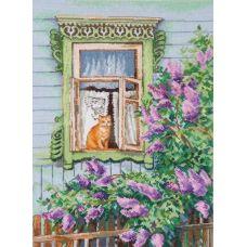 Набор для вышивания А за окном весна, 25x35, Овен