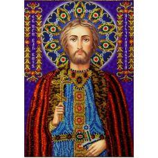 Набор для вышивания Святой Игорь, 19x27, Вышиваем бисером