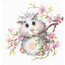 Набор для вышивания Хомячок, 15х14, Чудесная игла