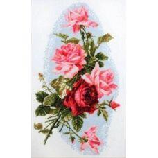 Набор для вышивания Розовый шик, 24x41, Палитра