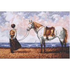 Набор для вышивания Морской бриз, 40x27, Палитра